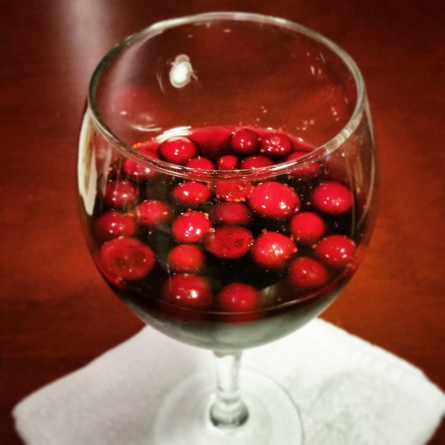 Spiced Cranberry Sangria 2
